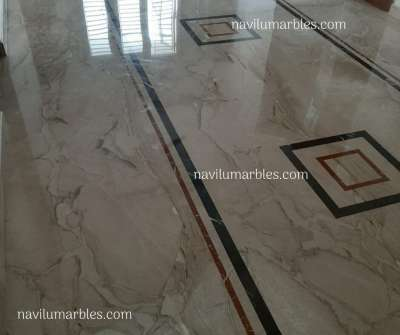 Italian Marble for Flooring-Site Pics
